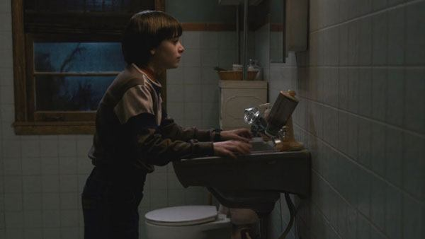 stranger things series on netflix sink