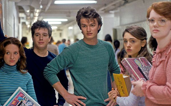 stranger things series on netflix students